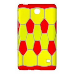 Football Blender Image Map Red Yellow Sport Samsung Galaxy Tab 4 (7 ) Hardshell Case