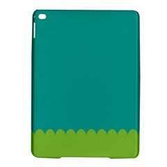Green Blue Teal Scallop Wallpaper Wave Ipad Air 2 Hardshell Cases
