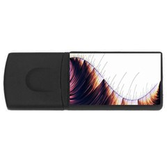 Abstract Lines USB Flash Drive Rectangular (1 GB)