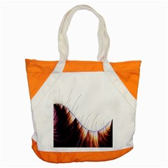 Abstract Lines Accent Tote Bag