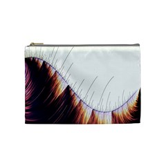 Abstract Lines Cosmetic Bag (medium)