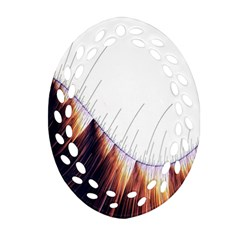 Abstract Lines Ornament (Oval Filigree)