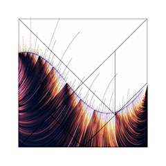 Abstract Lines Acrylic Tangram Puzzle (6  x 6 )