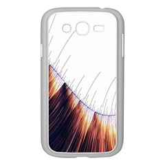 Abstract Lines Samsung Galaxy Grand DUOS I9082 Case (White)