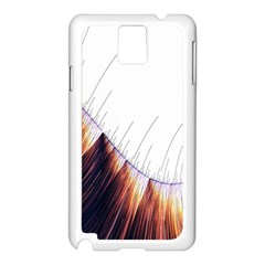 Abstract Lines Samsung Galaxy Note 3 N9005 Case (white)