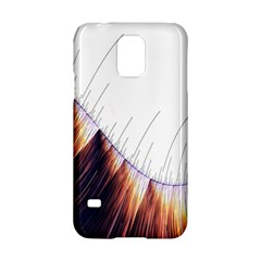 Abstract Lines Samsung Galaxy S5 Hardshell Case