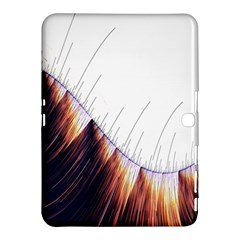 Abstract Lines Samsung Galaxy Tab 4 (10 1 ) Hardshell Case