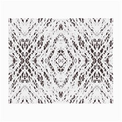 Pattern Monochrome Terrazzo Small Glasses Cloth