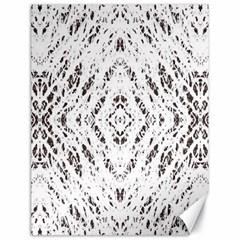 Pattern Monochrome Terrazzo Canvas 18  X 24