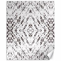 Pattern Monochrome Terrazzo Canvas 11  X 14