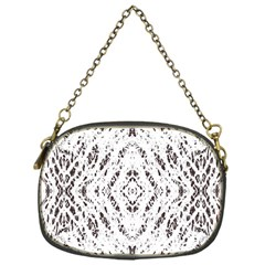 Pattern Monochrome Terrazzo Chain Purses (one Side)