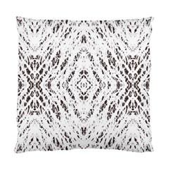 Pattern Monochrome Terrazzo Standard Cushion Case (One Side)