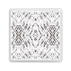Pattern Monochrome Terrazzo Memory Card Reader (square)