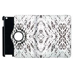 Pattern Monochrome Terrazzo Apple Ipad 3/4 Flip 360 Case