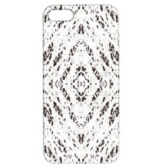 Pattern Monochrome Terrazzo Apple iPhone 5 Hardshell Case with Stand