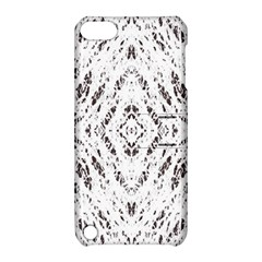 Pattern Monochrome Terrazzo Apple iPod Touch 5 Hardshell Case with Stand
