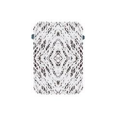 Pattern Monochrome Terrazzo Apple iPad Mini Protective Soft Cases