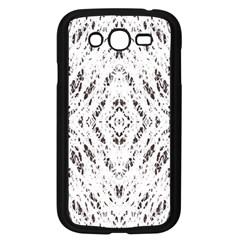 Pattern Monochrome Terrazzo Samsung Galaxy Grand DUOS I9082 Case (Black)