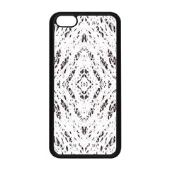 Pattern Monochrome Terrazzo Apple iPhone 5C Seamless Case (Black)