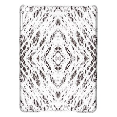 Pattern Monochrome Terrazzo Ipad Air Hardshell Cases