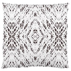 Pattern Monochrome Terrazzo Standard Flano Cushion Case (One Side)