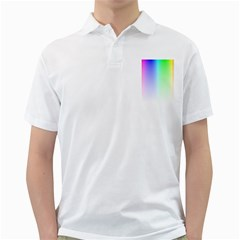 Layer Light Rays Rainbow Pink Purple Green Blue Golf Shirts