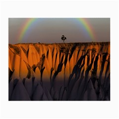 Rainbows Landscape Nature Small Glasses Cloth