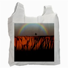 Rainbows Landscape Nature Recycle Bag (one Side)