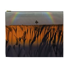 Rainbows Landscape Nature Cosmetic Bag (xl)