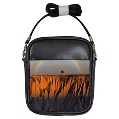 Rainbows Landscape Nature Girls Sling Bags