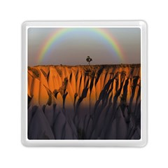 Rainbows Landscape Nature Memory Card Reader (square)