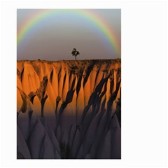 Rainbows Landscape Nature Small Garden Flag (Two Sides)