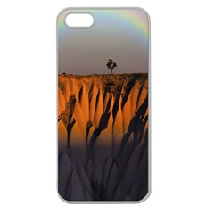 Rainbows Landscape Nature Apple Seamless Iphone 5 Case (clear)