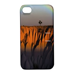 Rainbows Landscape Nature Apple iPhone 4/4S Hardshell Case with Stand