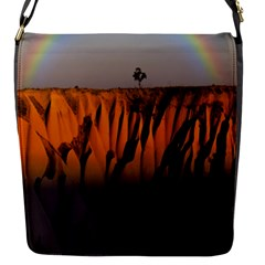 Rainbows Landscape Nature Flap Messenger Bag (S)