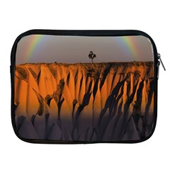 Rainbows Landscape Nature Apple iPad 2/3/4 Zipper Cases