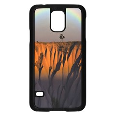 Rainbows Landscape Nature Samsung Galaxy S5 Case (Black)