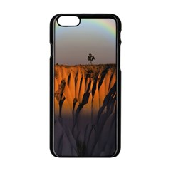 Rainbows Landscape Nature Apple Iphone 6/6s Black Enamel Case