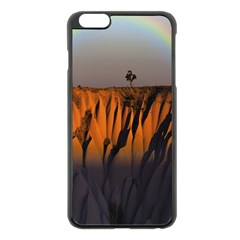 Rainbows Landscape Nature Apple iPhone 6 Plus/6S Plus Black Enamel Case