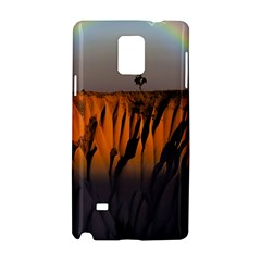 Rainbows Landscape Nature Samsung Galaxy Note 4 Hardshell Case