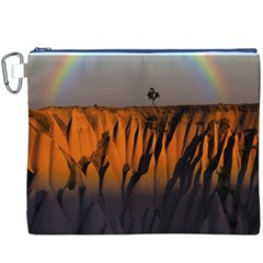 Rainbows Landscape Nature Canvas Cosmetic Bag (XXXL)
