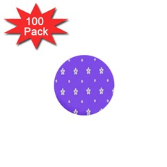 Light Purple Flowers Background Images 1  Mini Buttons (100 Pack)