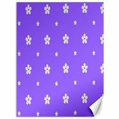 Light Purple Flowers Background Images Canvas 36  X 48