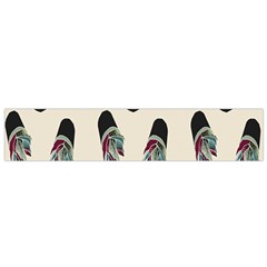 Succulent Plants Pattern Lights Flano Scarf (Small)