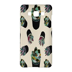 Succulent Plants Pattern Lights Samsung Galaxy A5 Hardshell Case