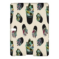 Succulent Plants Pattern Lights Samsung Galaxy Tab S (10 5 ) Hardshell Case