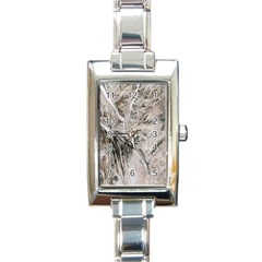 Earth Landscape Aerial View Nature Rectangle Italian Charm Watch