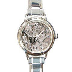 Earth Landscape Aerial View Nature Round Italian Charm Watch