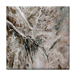 Earth Landscape Aerial View Nature Tile Coasters
