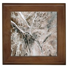 Earth Landscape Aerial View Nature Framed Tiles